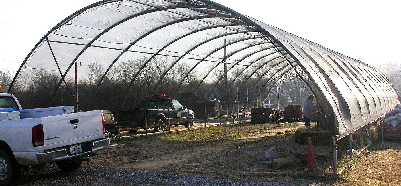 Hoop House Construction