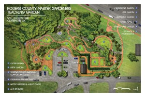 Will Rogers Teaching Garden master plan