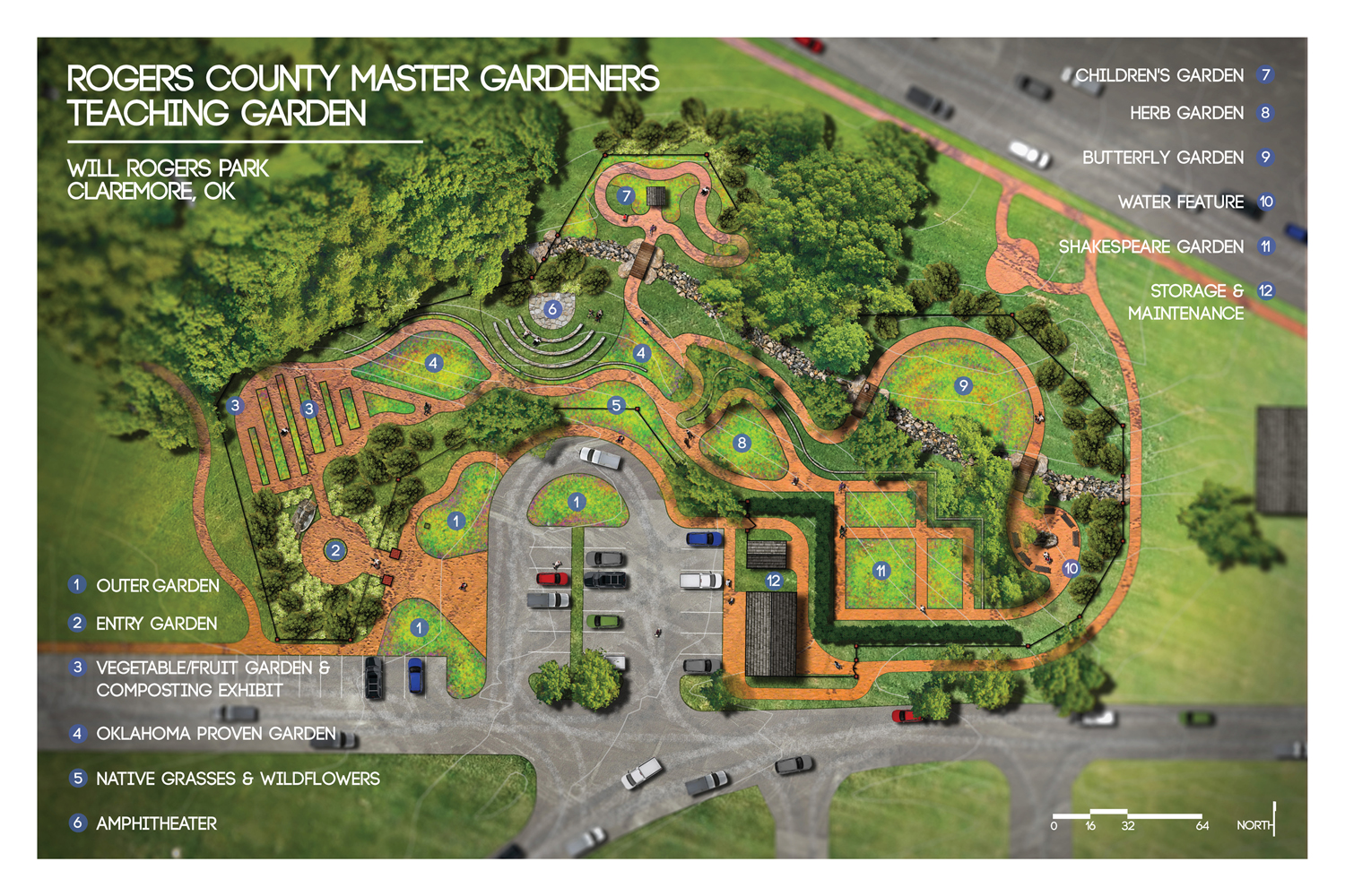 Superb Recent Renovations Include Dedicated Areas For Teaching And Demonstration  Gardens. Guided By This Master Plan (click On Image), The Gardens Will ...
