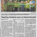 Teaching Garden Ribbon Cutting Article
